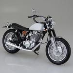 1/12 Bike No.11 Yamaha SR400S w/Custom Parts Plastic Model(Tentative Pre-order)