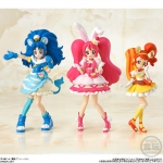 KiraKira Precure A La Mode - Cutie Figure -3SET- (CANDY TOY)(Pre-order)