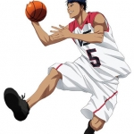 Movie Kuroko's Basketball LASTGAME - Life-size Wall Scroll: LASTGAME (5) Daiki Aomine(Pre-order)