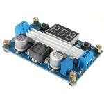 LTC1871 Step up (Boost) with Digital voltmeter 4.5-30Vdc 100W