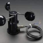 เครื่องวัดความเร็วลม เซ็นเซอร์วัดลม แบบ3ถ้วย Wind speed sensor voltage signal 0-5V