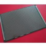 แผ่นปริ๊นอเนกประสงค์ ไข่ปลา สีเขียว คุณภาพดี Prototype PCB Board 8x12 cm
