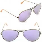 แว่นกันแดด RayBan แท้ทรง Aviator rb3025 167/4k ปรอทม่วงอ่อน
