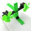 แผ่นพลาสติกเจาะรู สีเขียว ขนาด 20*100mm thumbnail 2