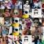 Mustachifier Blue Sunglasses Age 0-2 แว่นกันแดดเด็กสีฟ้า thumbnail 3