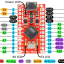 Arduino Leonardo Pro Micro ATmega32U4 5V/16MHz พร้อม PIN Header thumbnail 7