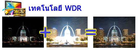 เทคโนโลยี WDR