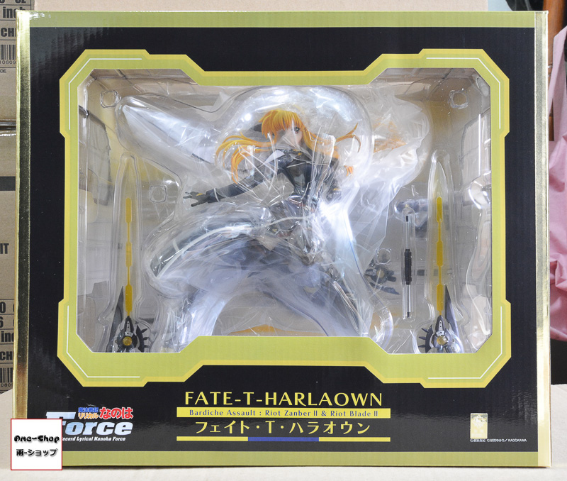 Magical Record Lyrical Nanoha Force - Fate T. Harlaown 1/8 (In-stock)