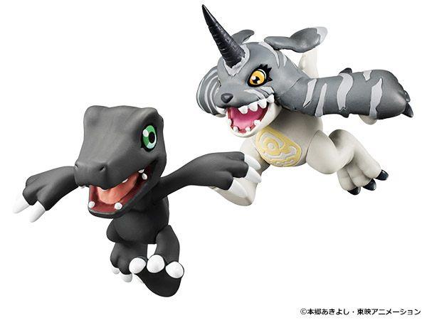Digimon Adventure - Digicolle ! Black Agumon & Black Gabumon Set(Limited Pre-order)