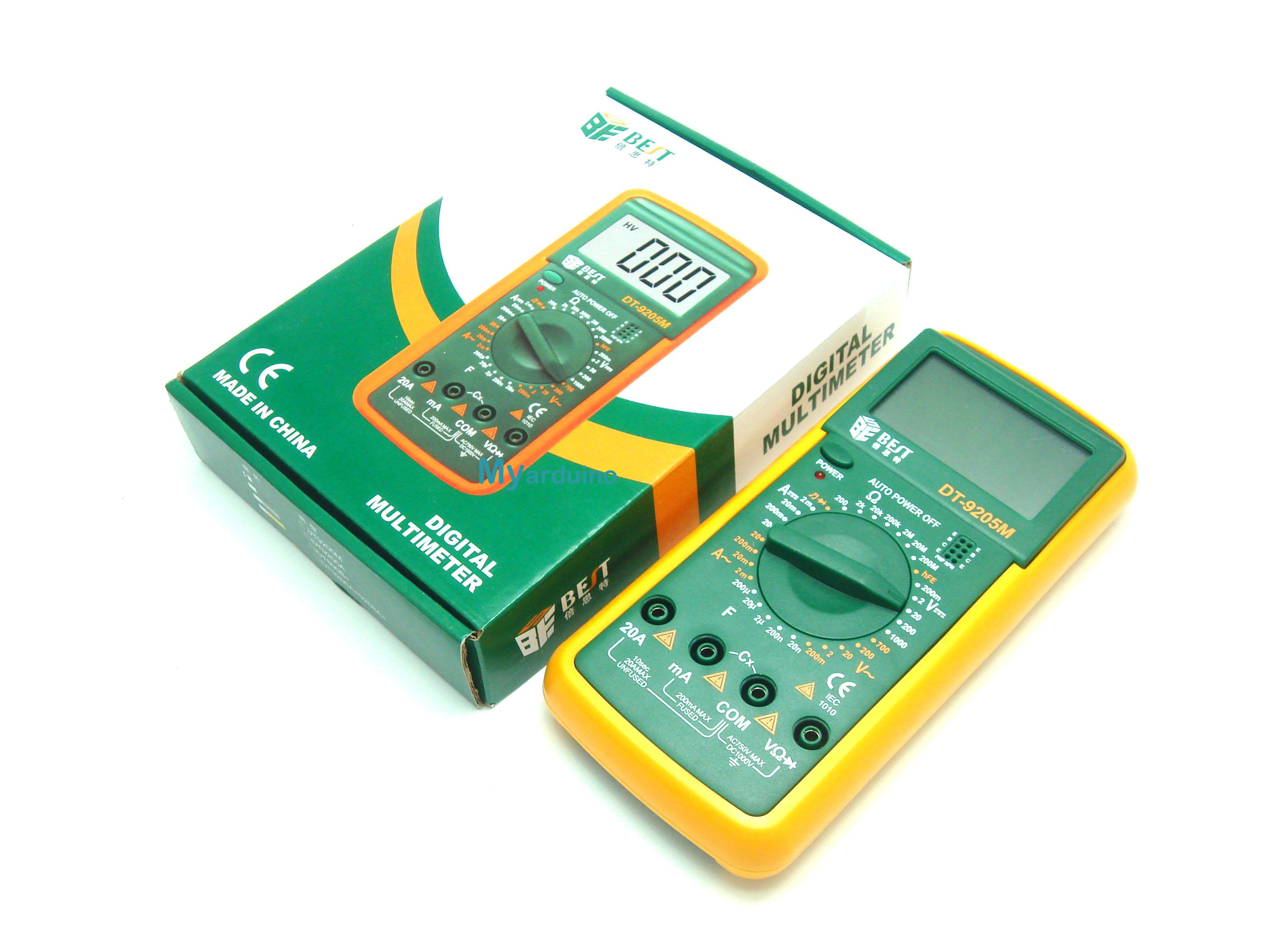 Ke Saier DT9205M LCD Voltmeter Ammeter Ohmmeter Multimeter