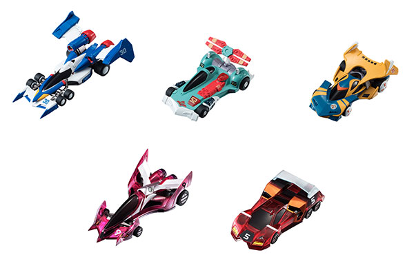 Future GPX Cyber Formula - Cyber Formula Collection Vol.5 (TV Hen) 6Pack BOX(Pre-order)