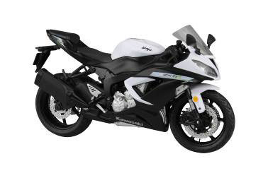 1/12 Complete Motorcycle Model Kawasaki Ninja ZX-6R 2014 (White)(Released)