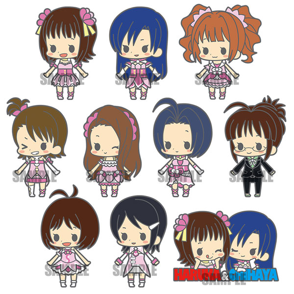 es Series nino Rubber Strap Collection - THE IDOLM@STER stage1 Renewal ver. 10Pack BOX(Pre-order)