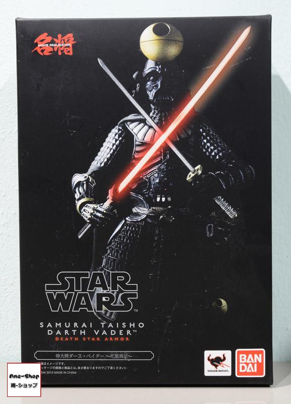 """Meisho MOVIE REALIZATION Samurai Taisho Darth Vader -Shiseigusoku- """"Star Wars"""""""