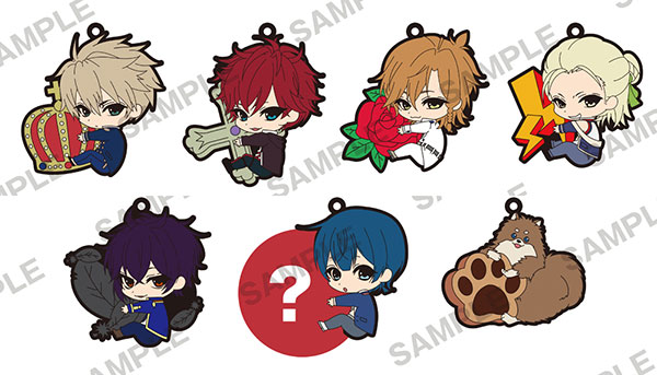 Dance with Devils - PitaColle Rubber Strap 7Pack BOX(Pre-order)