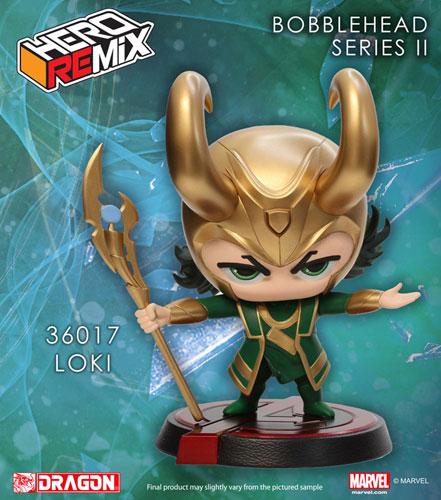 Hero Remix - Bobble Head Series: Avengers Loki (Complete Figure)(Back-order)
