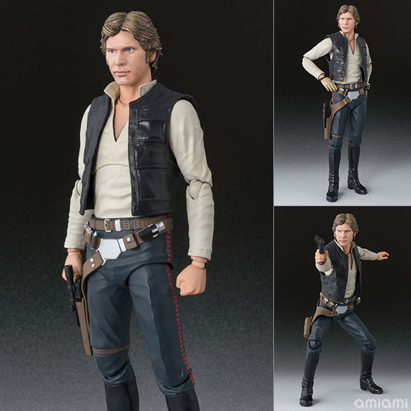 "S.H. Figuarts - Han Solo (A NEW HOPE) ""Star Wars""(Pre-order)"