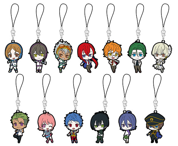 KING OF PRISM - Rubber Strap 13Pack BOX(Pre-order)