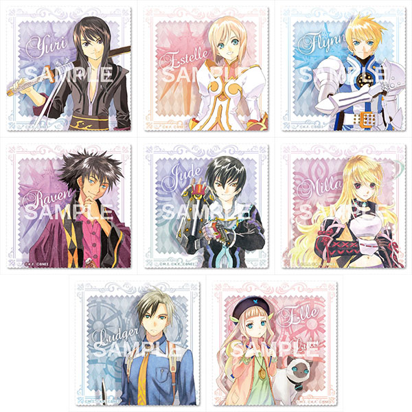 """Tales of"" Series Trading Multipurpose Cloth Vol.1 8Pack BOX(Pre-order)"