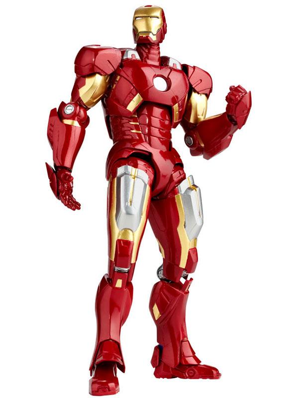 "Legacy of Revoltech - Tokusatsu Revoltech LR-041 ""Avengers"" Iron Man Mark 7(Pre-order)"