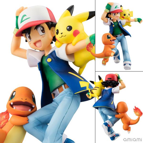 G.E.M. Series - Pokemon: Ash & Pikachu & Charmander Complete Figure(Pre-order)