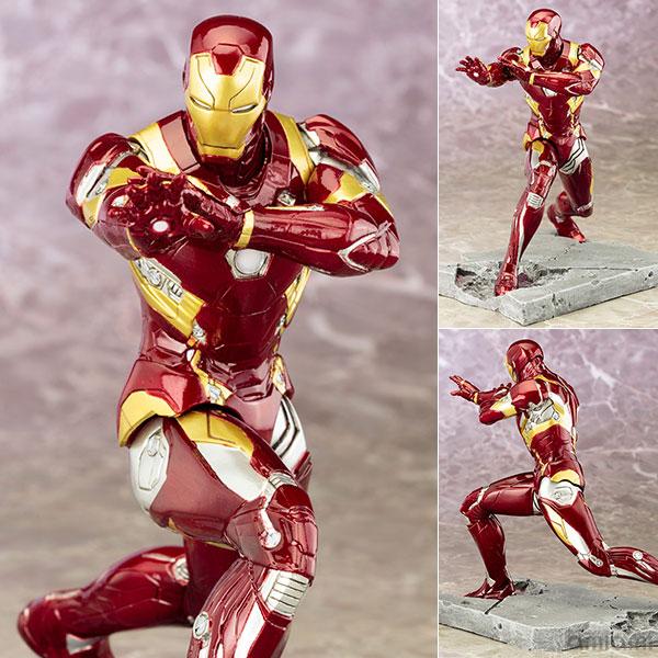 ARTFX+ - Captain America Civil War: Iron Man MARK46 Civil War 1/10 Easy Assembly Kit(Pre-order)