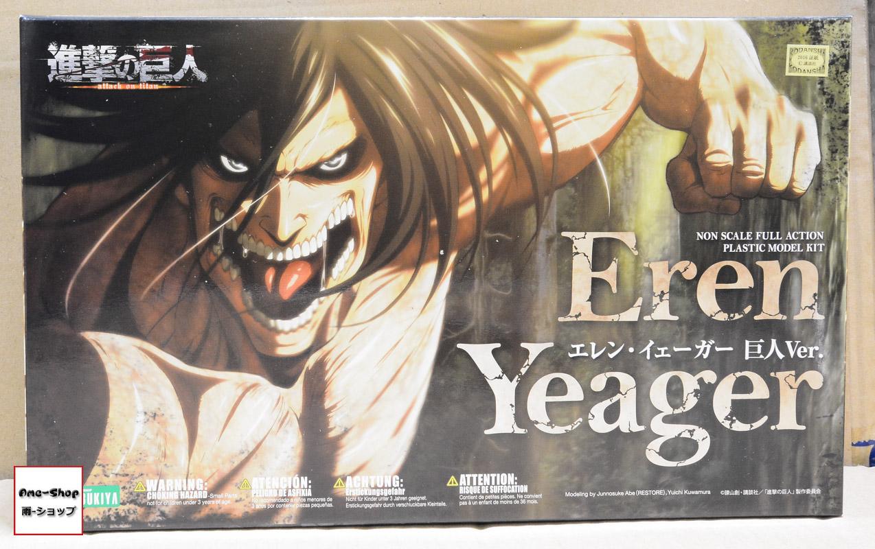 Attack on Titan - Eren Yeager Titan Ver. Plastic Model