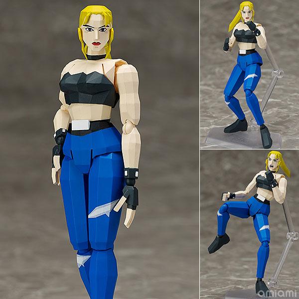 figma - Virtua Fighter: Sarah Bryant 2P Color ver.(Pre-order)