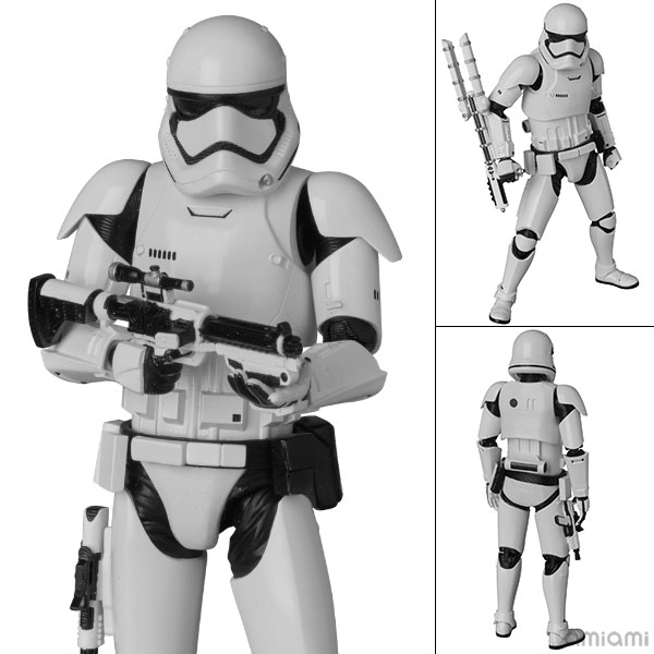 """MAFEX No.021 First Order Stormtrooper """"Star Wars: The Force Awakens""""(Pre-order)"""
