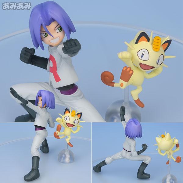 G.E.M. Series - Pokemon: James & Meowth Complete Figure(Pre-order)