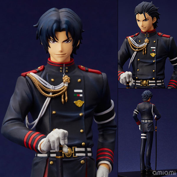 mensHdge technical statue No.23 Seraph of the End - Guren Ichinose Complete Figure(Pre-order)