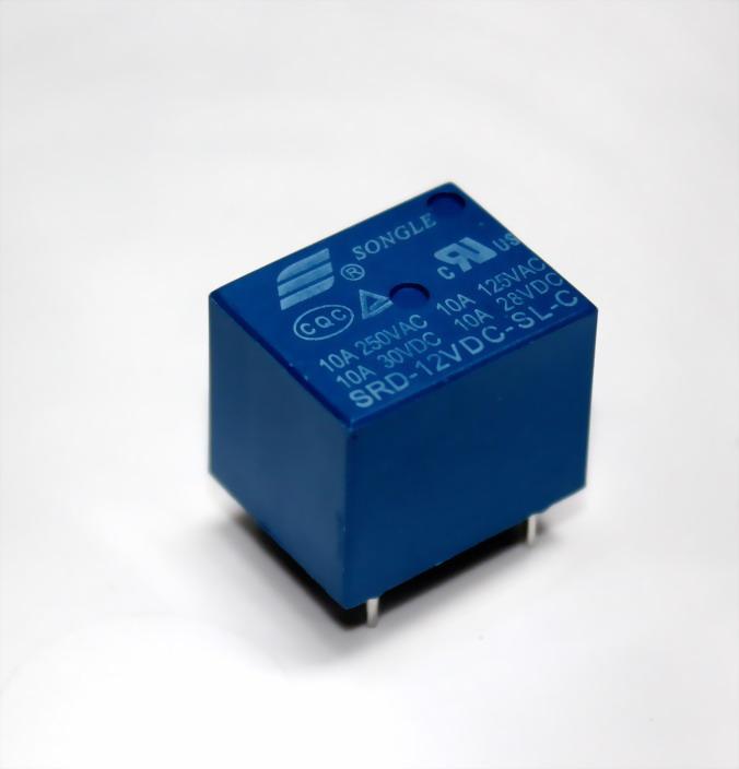 รีเลย์ 12VDC SONGLE Power Relay 12 volt 10A 250VAC