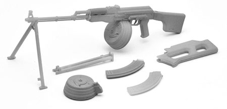 Little Armory LA016 1/12 RPK Type Plastic Model(Pre-order)