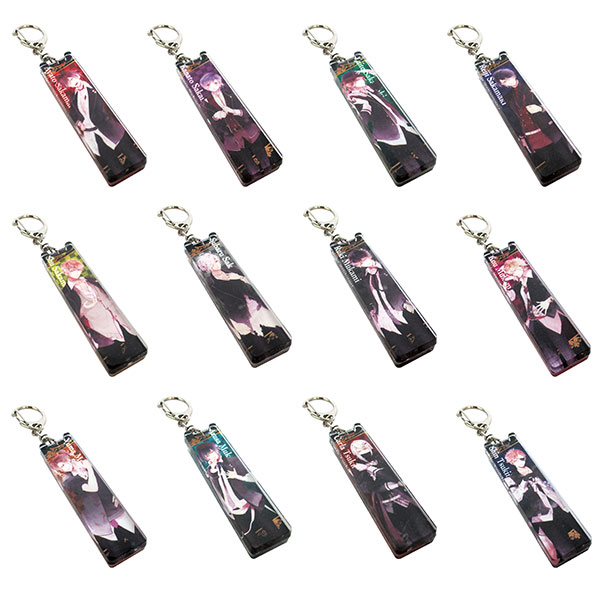 DIABOLIK LOVERS - Acrylic Stick Keychain 12Pack BOX(Pre-order)