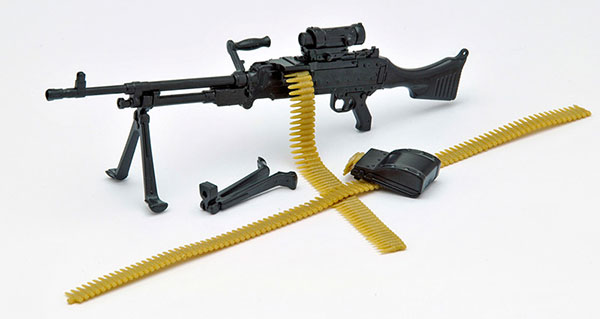 Little Armory LA006 1/12 M240G Type Plastic Model