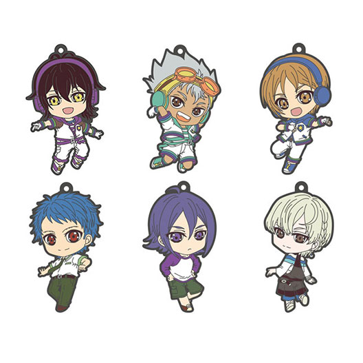 KING OF PRISM - Trading Rubber Strap 6Pack BOX(Pre-order)