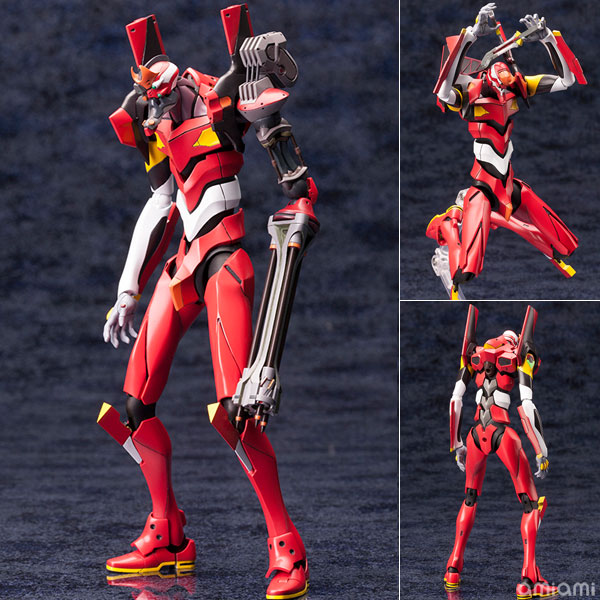 Rebuild of Evangelion 1/400 General-Purpose Humanoid Battle Weapon Android EVANGELION Production Model 02' beta Plastic Model(Pre-order)