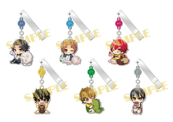 The New Prince of Tennis - YuraYura Clip Collection Vol.4 -Animals and Princes- 6Pack BOX(Pre-order)