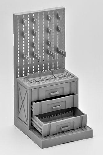 Little Armory LD006 1/12 Gun Rack B(Pre-order)