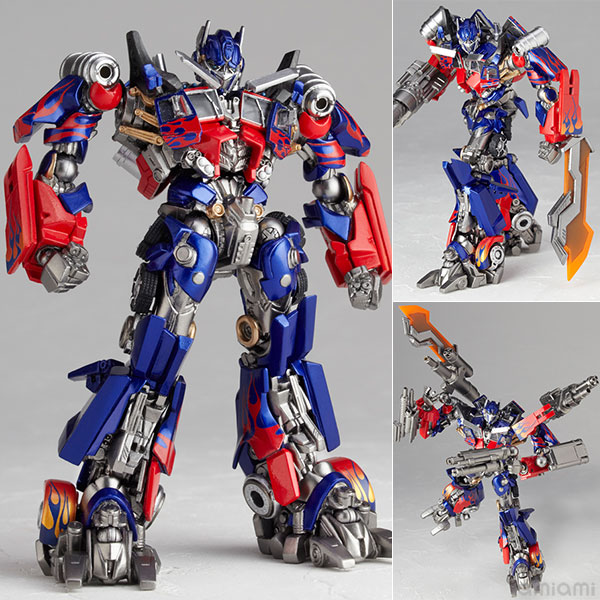"Legacy OF Revoltech Tokusatsu Revoltech No.LR-049 ""Transformers: Dark Side of the Moon"" Optimus Prime(Pre-order)"