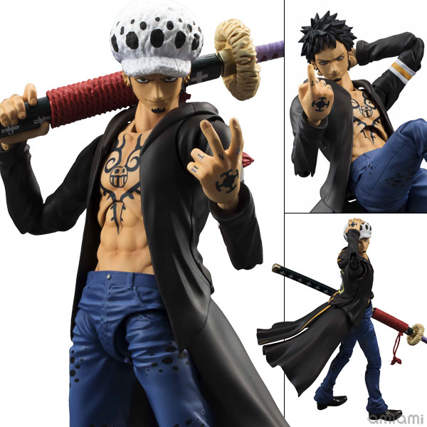 Variable Action Heroes - ONE PIECE: Trafalgar Law Action Figure(Pre-order)