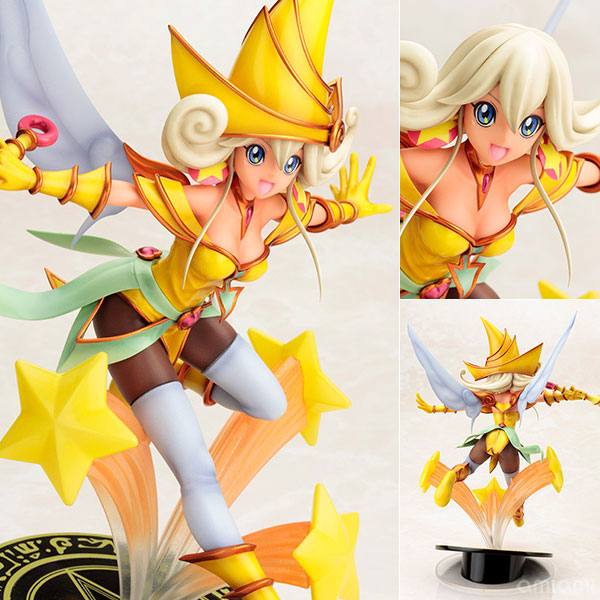 "Movie ""Yu-Gi-Oh!: The Dark Side of Dimensions"" - Lemon Magician Girl 1/7 Complete Figure(Pre-order)"