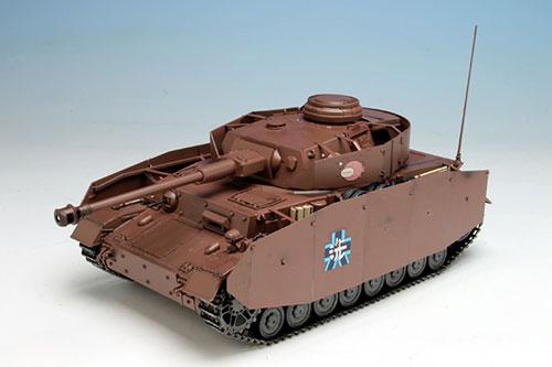 [Bonus] Girls und Panzer 1/35 Tank IV Ausf. D Kai (H Type) Ankou Team Gekijouban desu! Plastic Model(Pre-order)