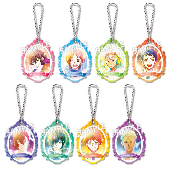 KING OF PRISM - Round Top Keychain 9Pack BOX(Pre-order)