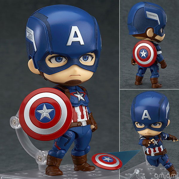 Nendoroid - The Avengers Age of Ultron: Captain America Hero's Edition(Pre-order)