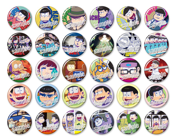 es Series nino Trading Badge Collection - Osomatsu-san vol.2 30Pack BOX(Pre-order)