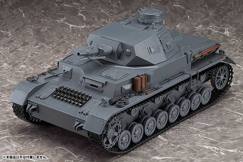 figma Vehicles - Girls und Panzer 1/12 IV Tank Exterior Equipment Set(Pre-order)