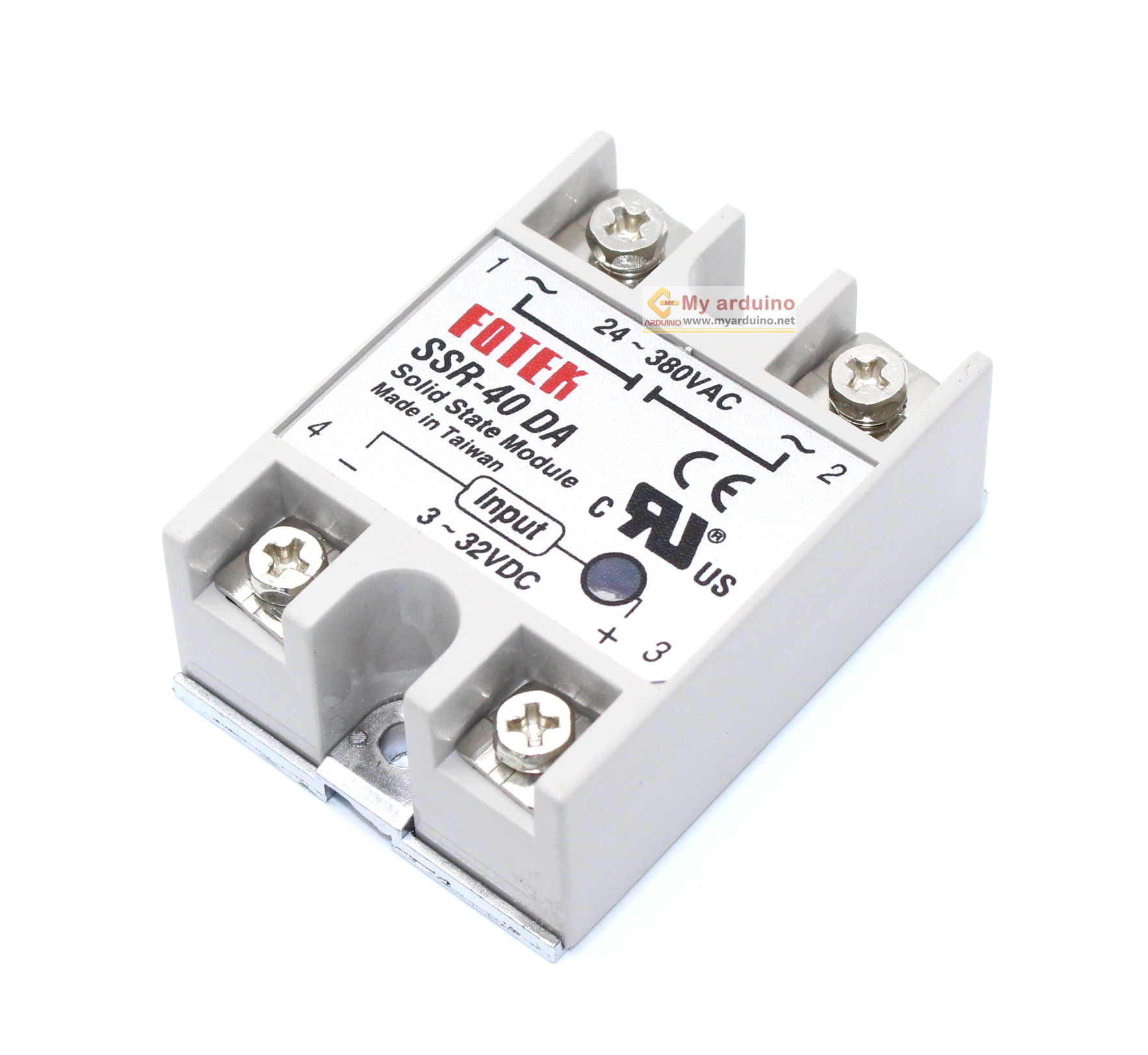 Fotek Solid State Relay Ssr 40a Arduino Solidstaterelaycircuitpng