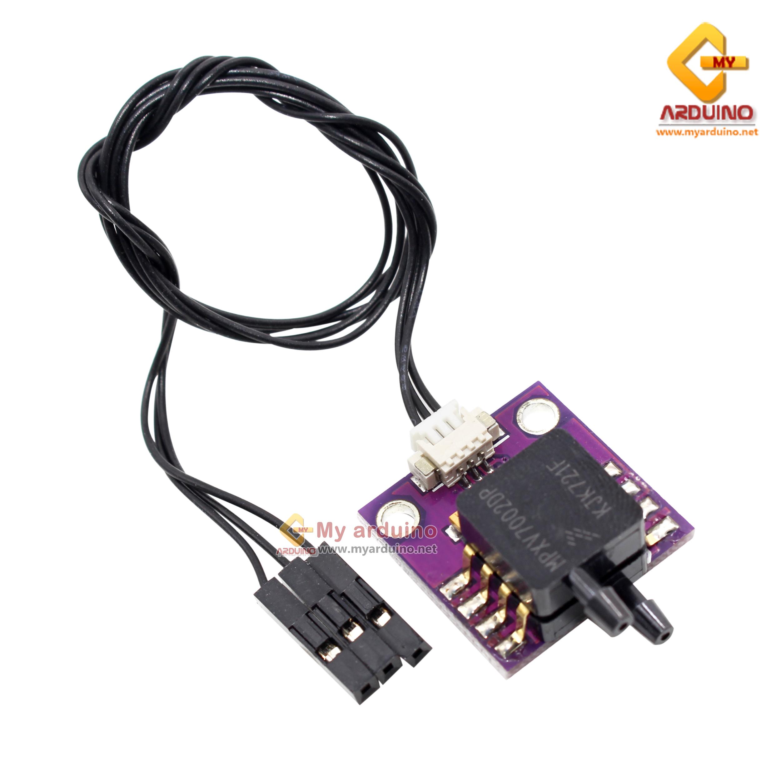 MPXV7002DP เซ็นเซอร์วัดความดัน Pressure Sensor DUAL PORT