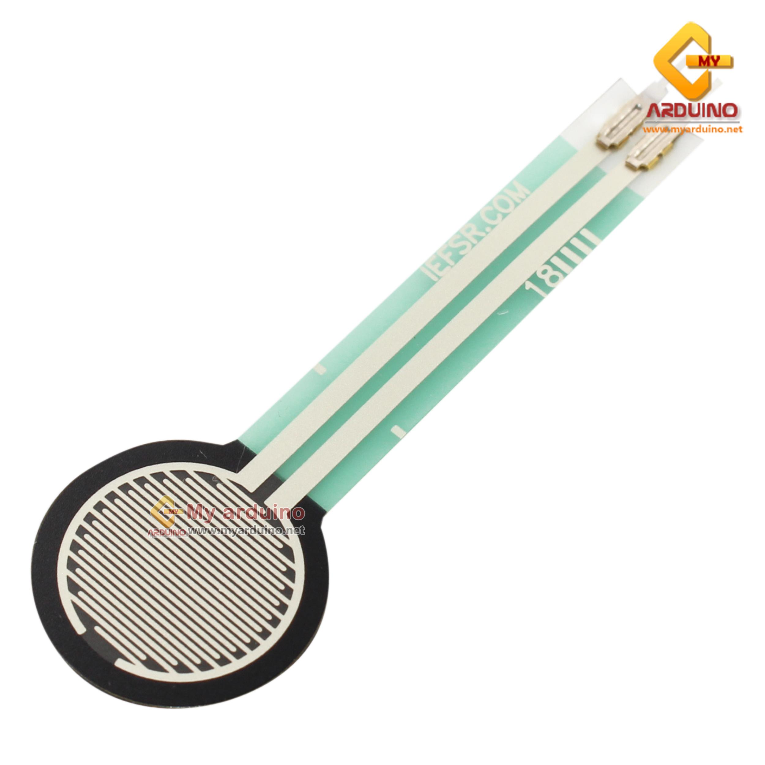 เซ็นเซอร์รับแรงกด FSR402 Force Sensitive Resistor 0g - 10kg